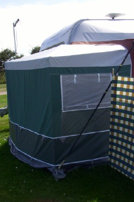 The Stand Alone Motorhome Annexe Quest Awning
