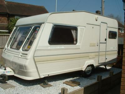 I Have An Abbey GT 214 1989 Caravan Two Berth 16ft Excluding A Frame Any Idea What Size Awning Should Be Looking For Bought The Van With